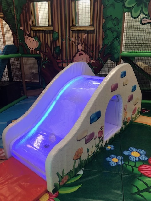 Adorable Slide in the Toddler Area