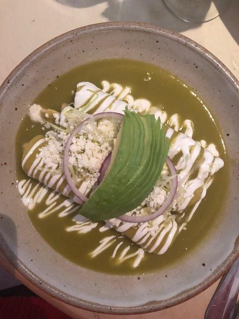 The Incredible Enchiladas De Pollo En Salsa Verde