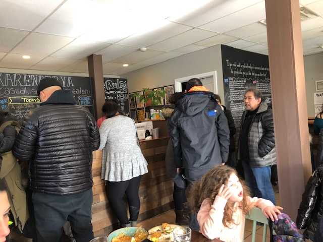 The Early Lunch Crowds