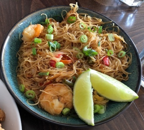 Rice Noodles with Shrimp