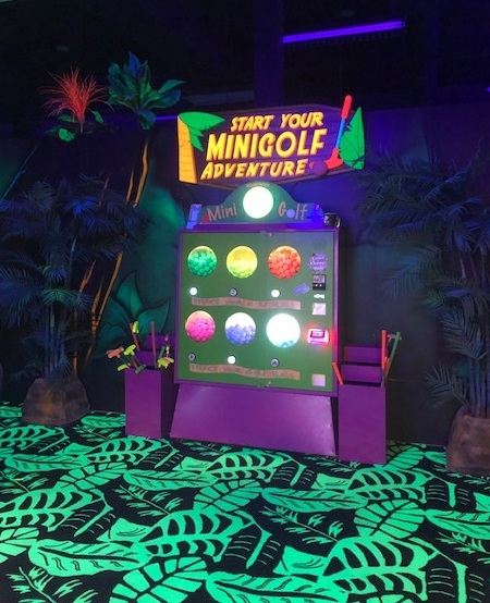 Glow-in-the-Dark Mini-Golf