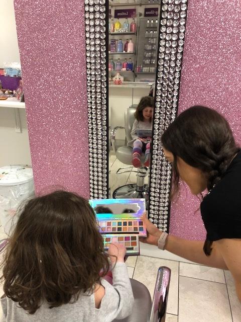 Choosing Her Makeup
