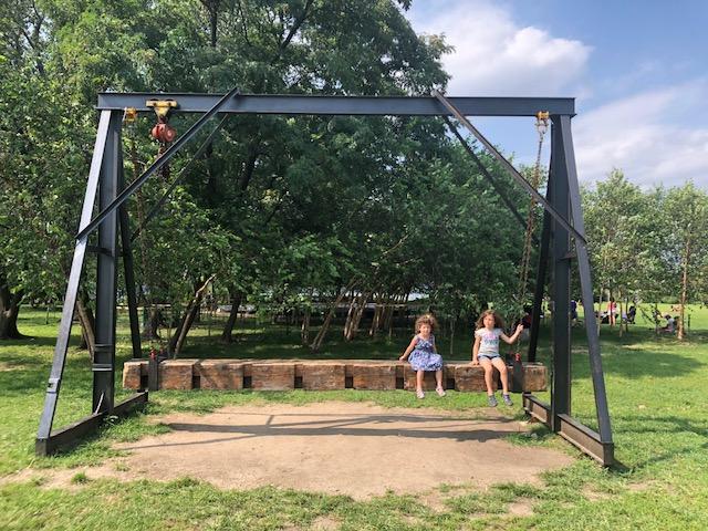 Socrates Sculpture Park - Great Greek food and a free sculpture park in Astoria, Queens.