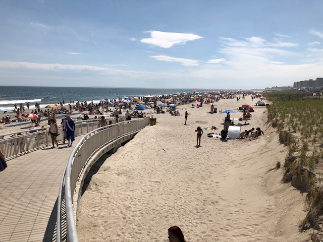Rockaway Beach - A beautiful and happening NYC beach.