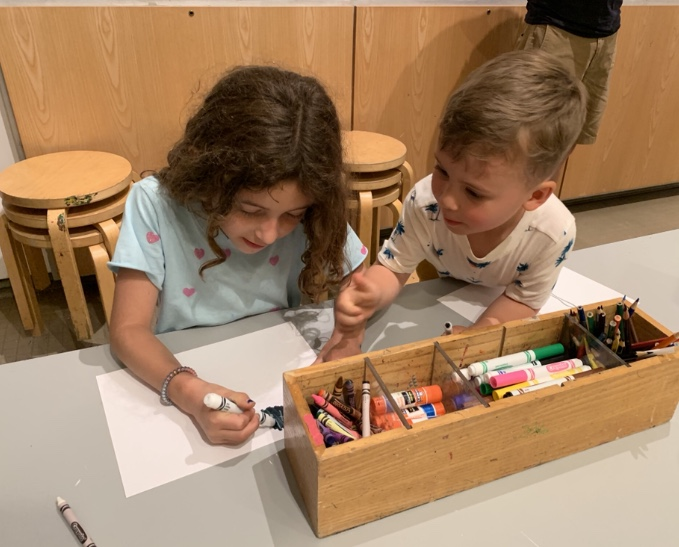 Katonah Museum of Art - A contemporary museum with a very well cared for Learning Center - an exhibition and activity space just for kids.