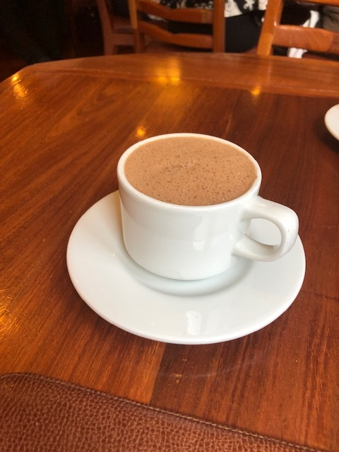 The Famous Hot Chocolate at El Cardenal