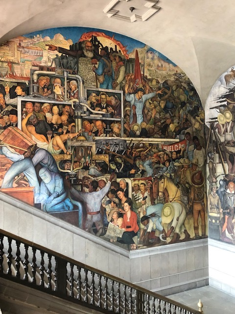 History of Mexico: This Wall Depicts the Mexico of Today and Tomorrow
