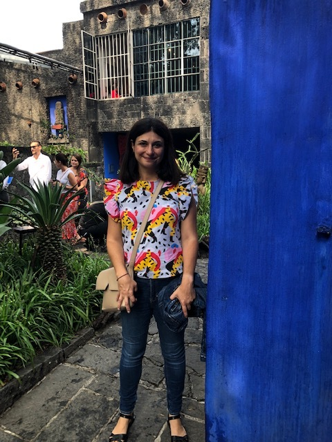 The Grounds Are Beautiful At Casa Azul