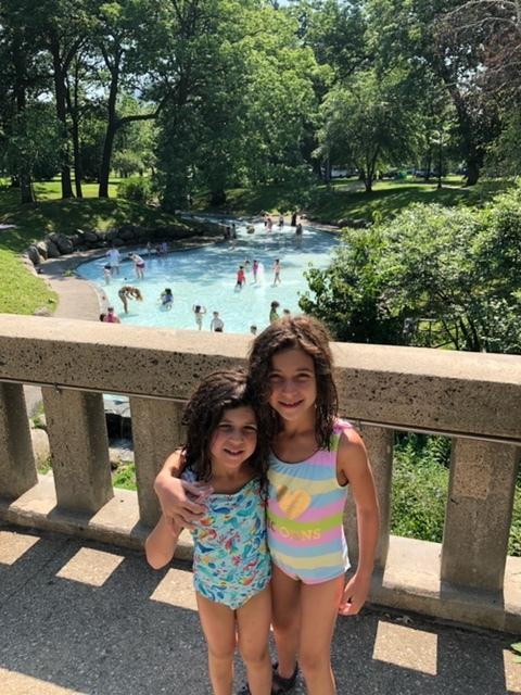 The Splash Pad at Deering Oaks Park