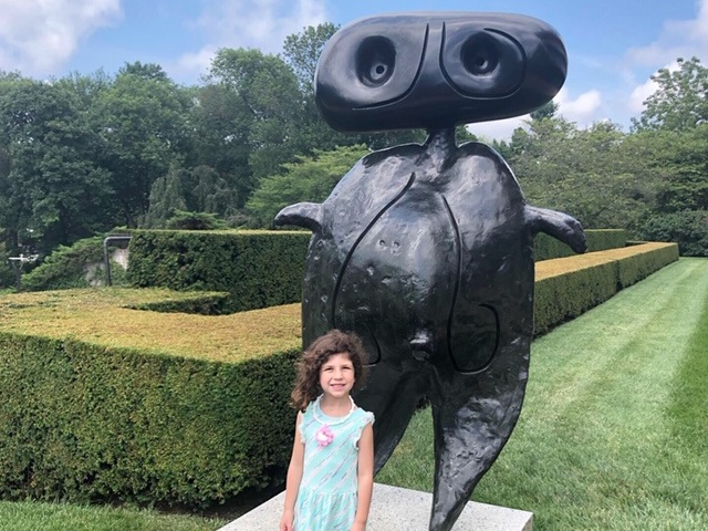 PepisCo Sculpture Gardens - A beautiful local outdoor sculpture garden on the grounds of PepsiCo in Purchase.