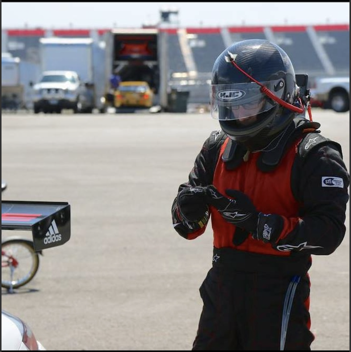 Nick Gearing Up at Circuit of The Americas In His Porsche Cup Car, Texas.