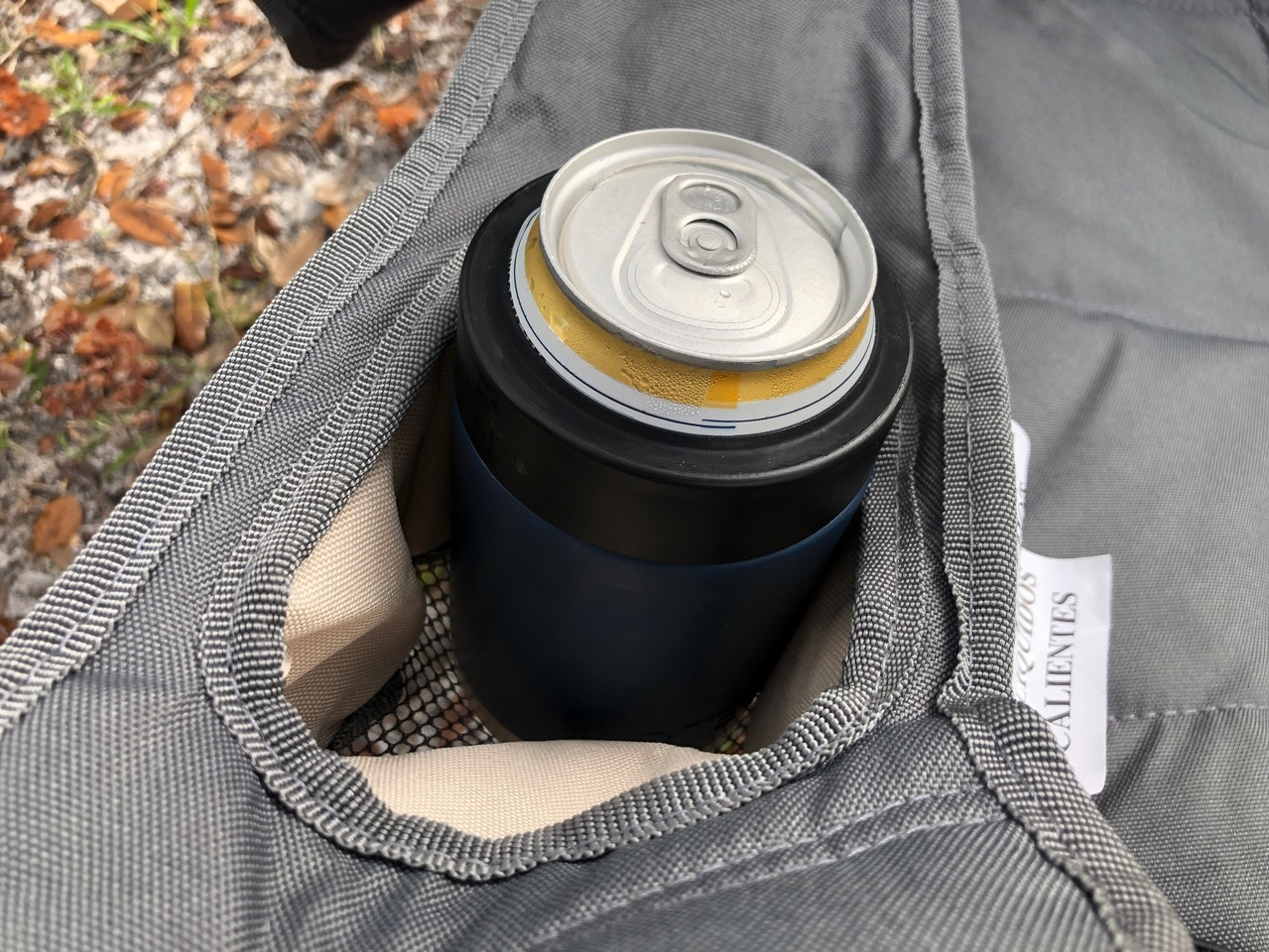 Two YETI Rambler Colster In Oversized Cup Holder