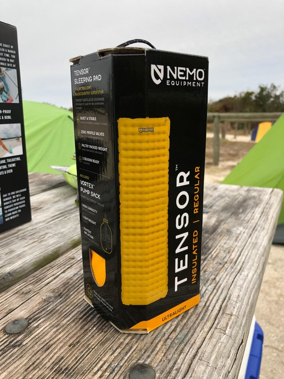 NEMO Tensor (2019) Ultralight Insulated Sleeping Pad Review: Best of