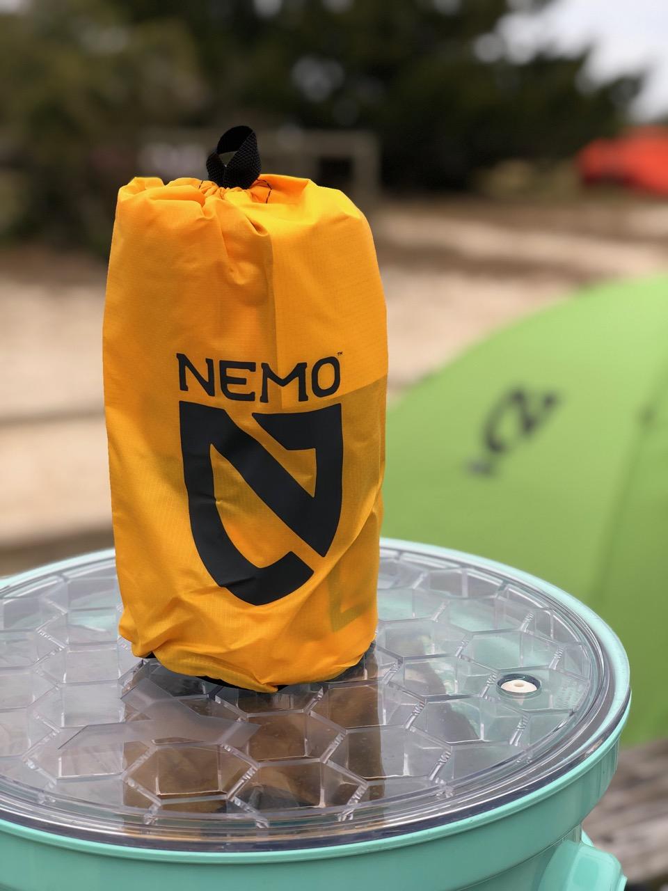 NEMO Tensor Regular Insulated Ultralight Sleeping Pad (2019) in Storage Bag