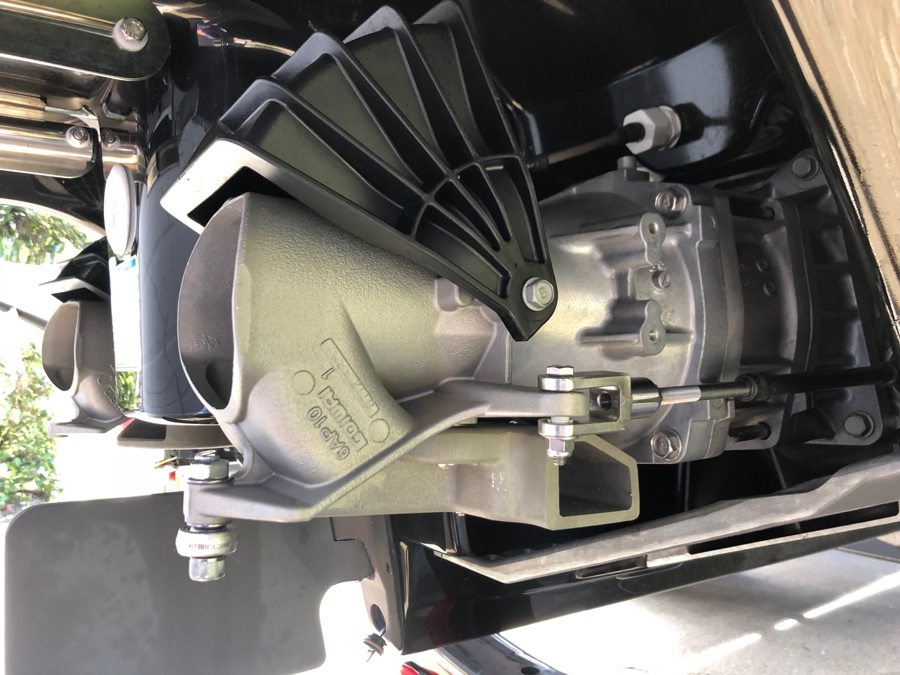 JetBoatPilot Lateral Thruster Installed on Yamaha 242x (Side)