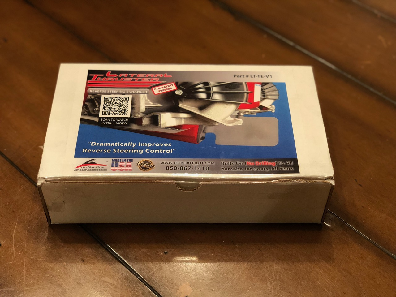JetBoatPilot Lateral Thruster Twin Engine Kit Unopened in Box