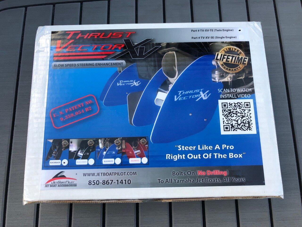 JetBoatPilot Thrust Vector XV Box (Front)