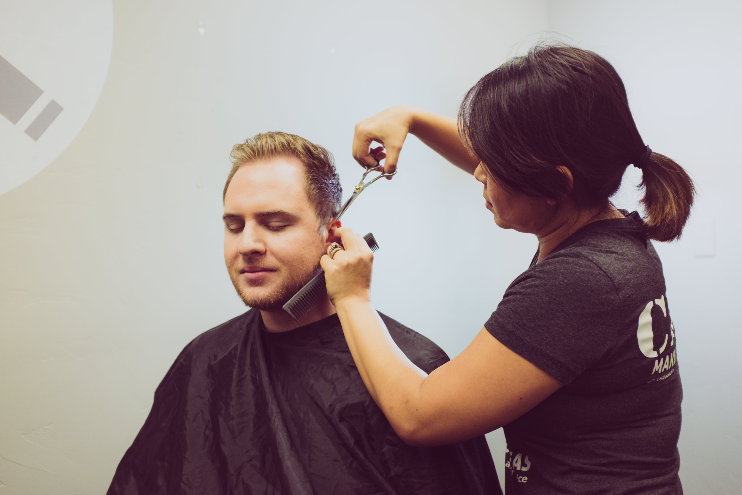 HAIR & SCALP CARE - Shampoo & Conditioner….………...$25Scalp Treatment……………….$60 & up