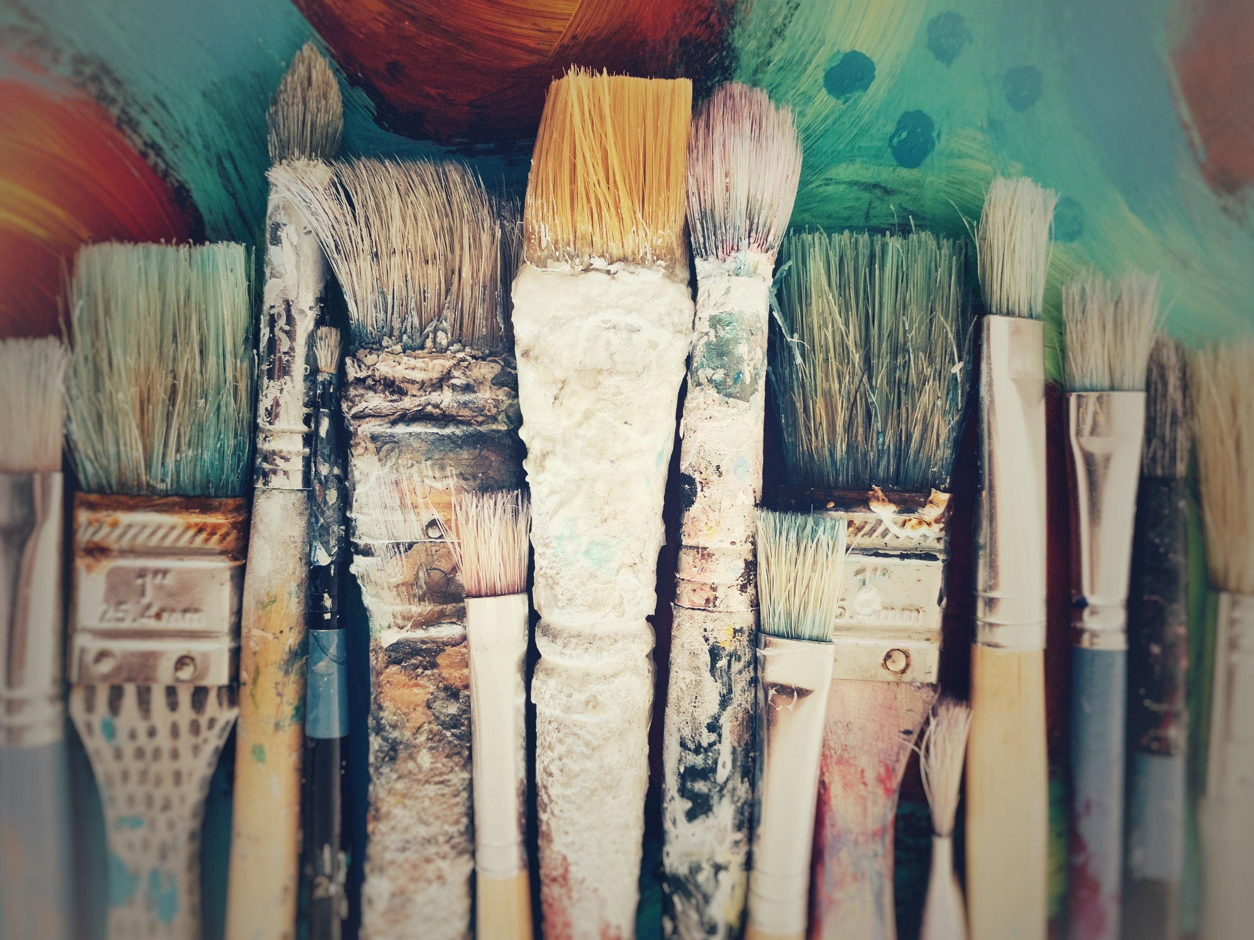 Cluster of Paint Brushes blurred lg file.jpeg