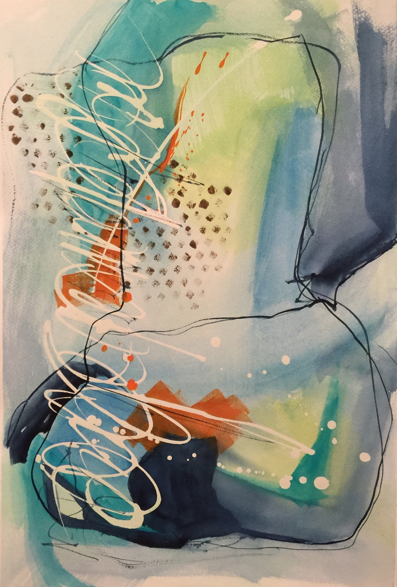 Work in progress:     Oceans Blue #2