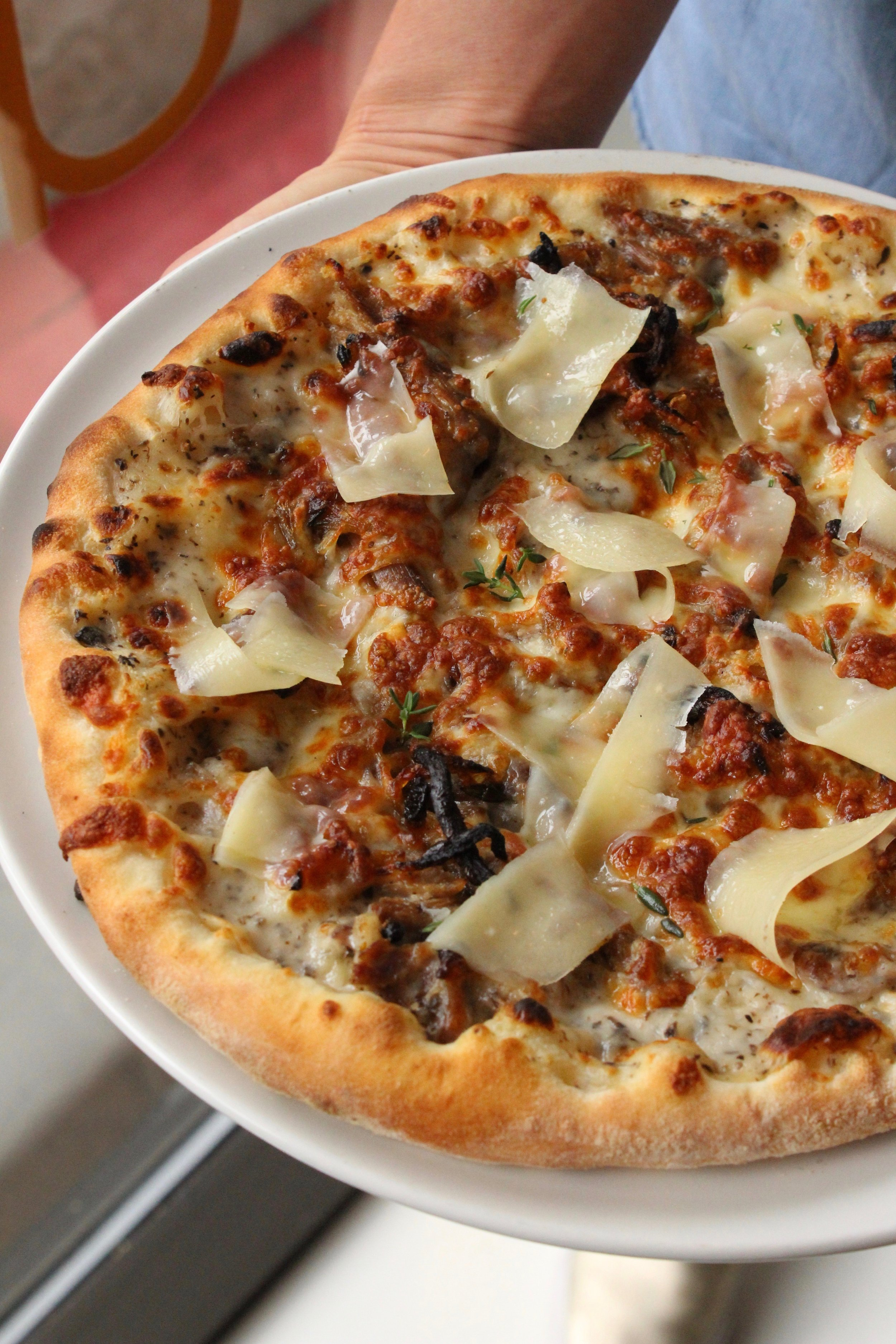 This Pizza is DUCKING Delicious -