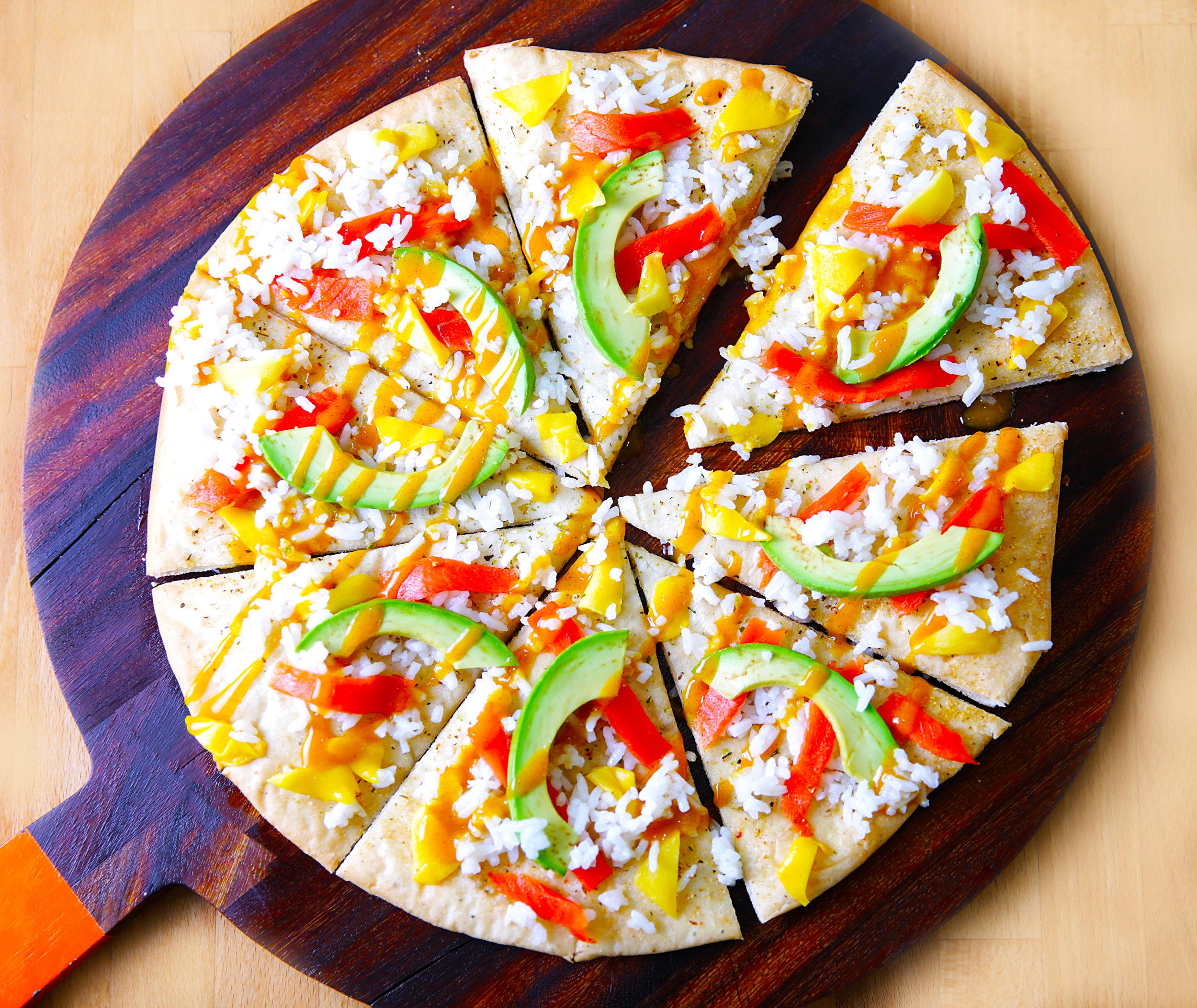 Sushi Pizza -