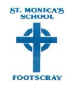 ST.MONICA'S PRIMARY SCHOOL FOOTSCRAY - BROADCAST TIMESMONDAY OCTOBER 29 TIME: 9.00 AMWEDNESDAY OCTOBER 31 TIME: 3.00 PMSATURDAY NOVEMBER 3 TIME: 11.00 AM