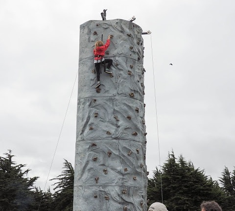 Climbing Wall - A fun experience for building confidence & experience!
