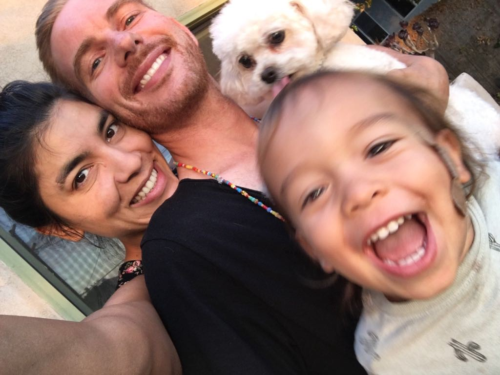 Cassandra, Ezi and Cielo have been surrounding me with love and light (Photo: Cassandra M. Montoya)