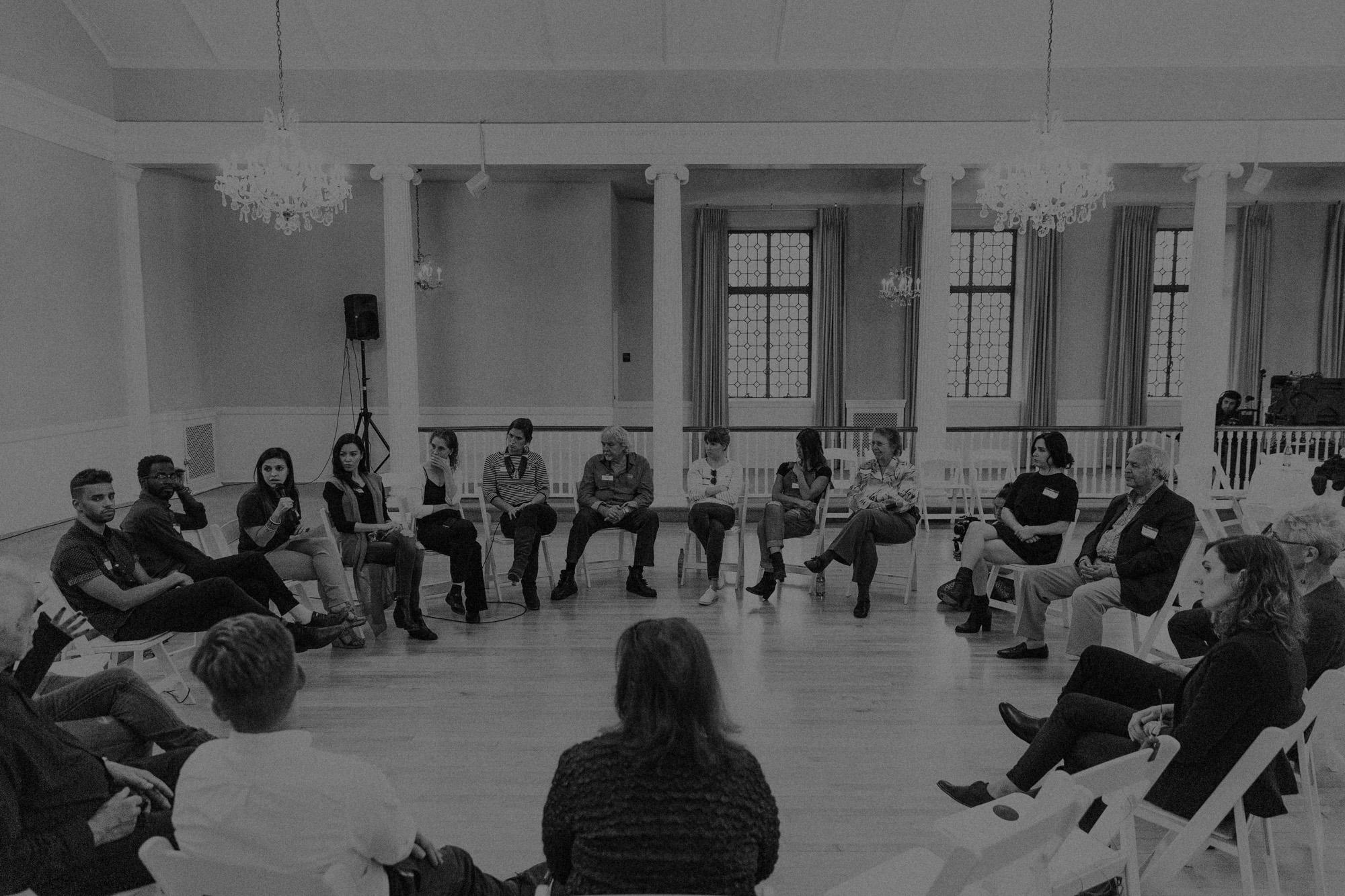 multi-cultural salons - Inter-Generational Conversations