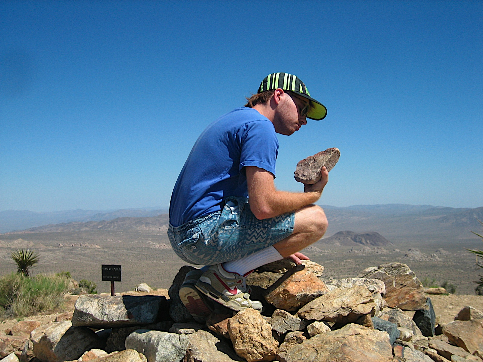Pondering an ancient patriarchal tool during a nature quest back in 2009