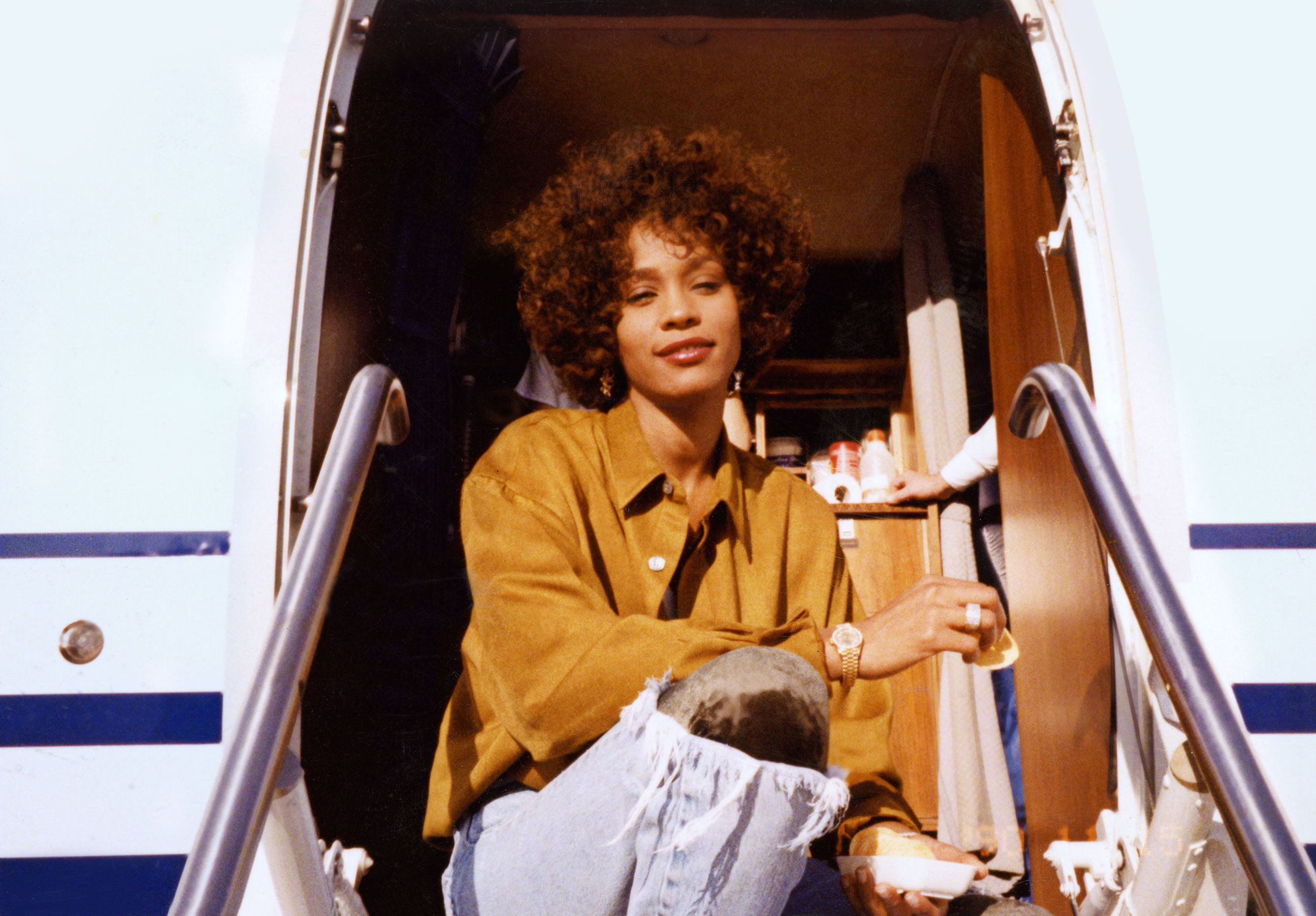 "Whitney Houston, whose life story is told in the documentary ""Whitney."" (Photo courtesy of the Estate of Whitney E. Houston / Roadside Attractions)"