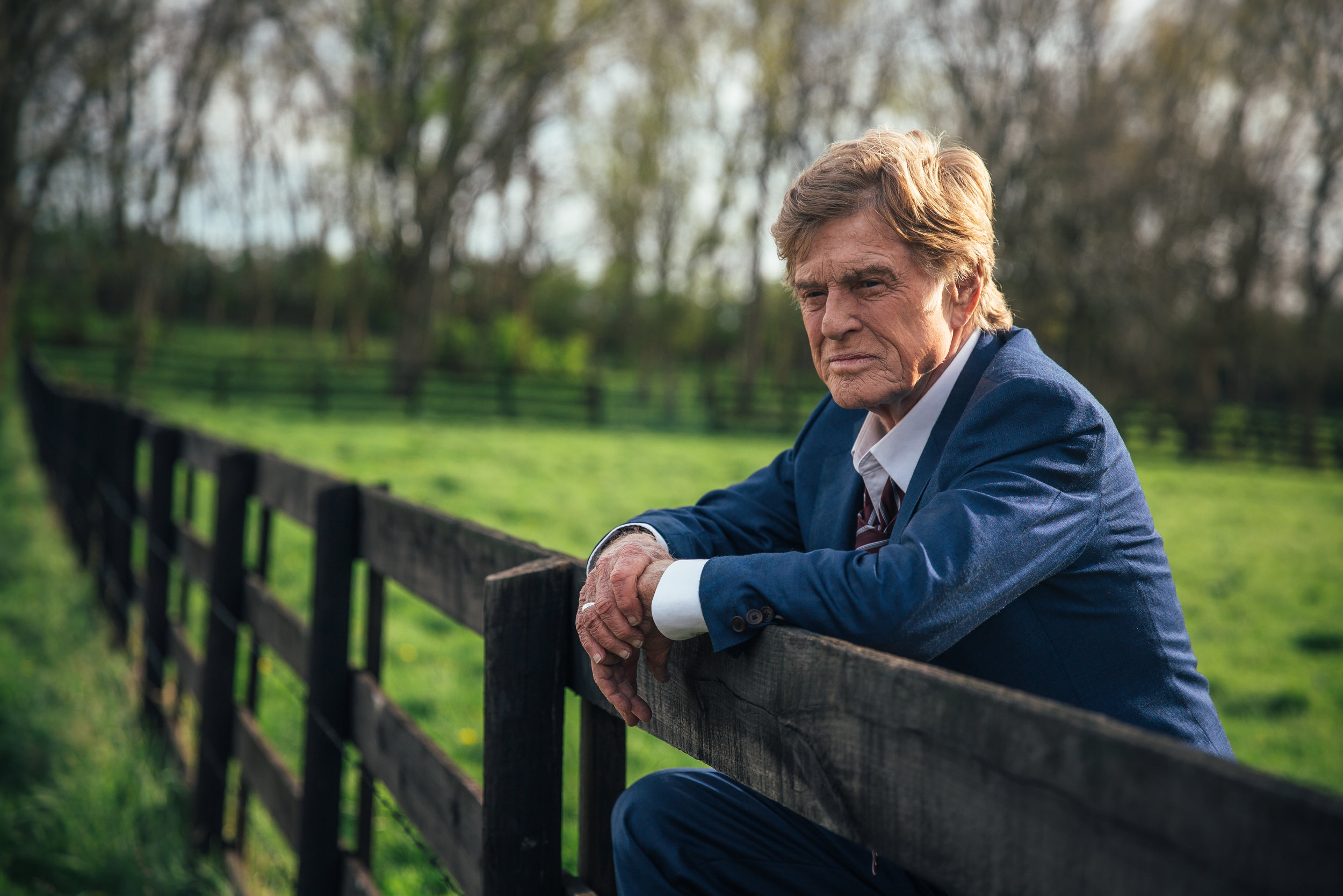 """Robert Redford plays a career bank robber in """"The Old Man and the Gun."""" (Photo by Eric Zachanowich / courtesy Fox Searchlight Pictures)"""