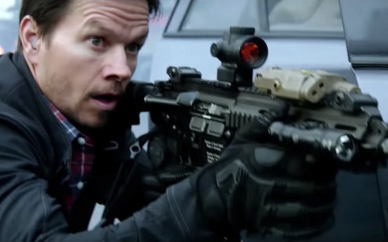 "Mark Wahlberg plays James Silva, leader of an elite and secret commando unit, in the action drma ""Mile 22."" (Photo courtesy STX Films)"