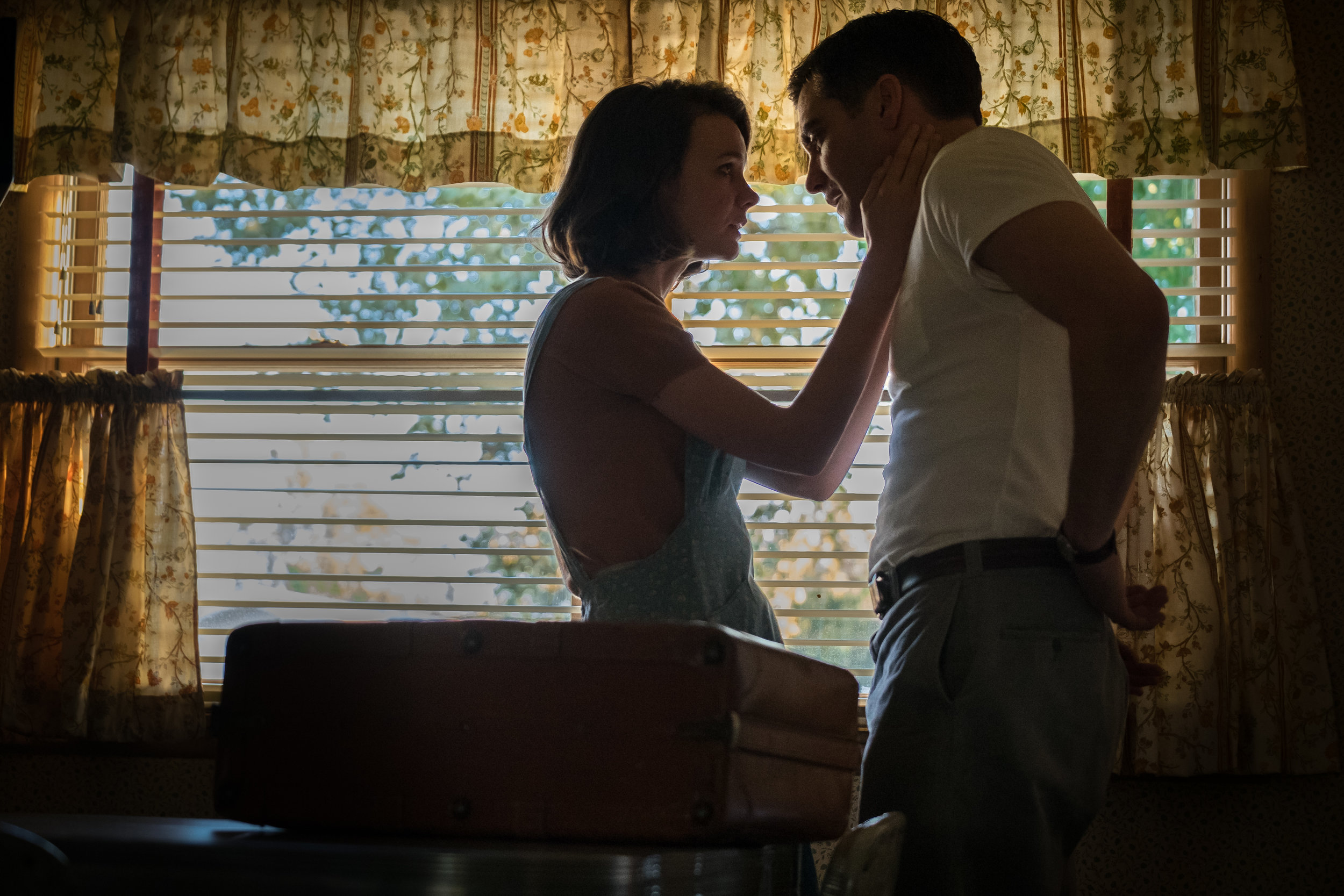 """Jeanette (Carey Mulligan, left) and Jerry (Jake Gyllenhaal), a married couple in 1960s Montana, have a confrontation in a moment from """"Wildlife,"""" director Paul Dano's adaptation of the Richard Ford novel. (Photo courtesy IFC Films)"""