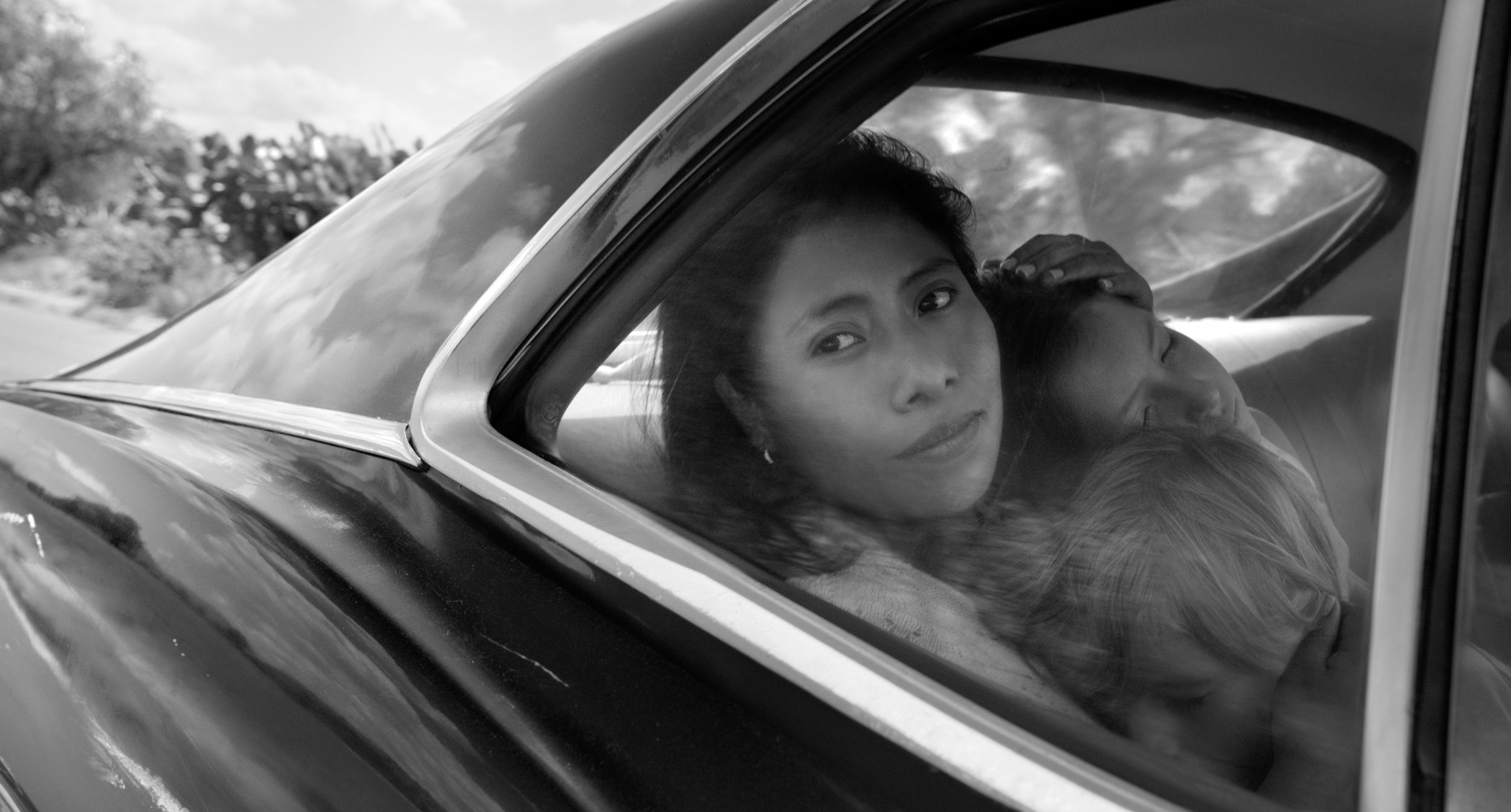 "Cleo (Yalitza Aparicio), a maid for a middle-class Mexico City family, is the focus of Alfonso Cuarón's drama ""Roma."" (Photo by Alfonso Cuarón, courtesy Netflix)"