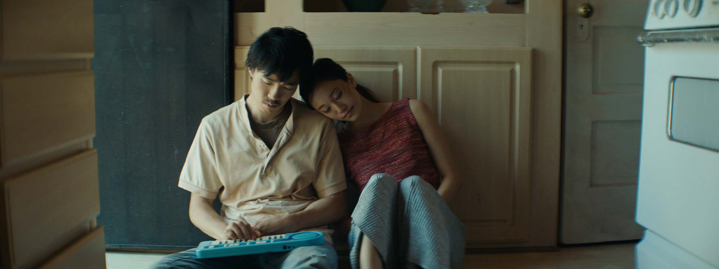 """Siblings (Teddy Lee, left, and Tiffany Chu) reconnect in Justin Chon's """"Ms. Purple,"""" an official selection in the U.S. Dramatic Competition of the 2019 Sundance Film Festival. (Photo by Ante Chen, courtesy of the Sundance Institute)"""