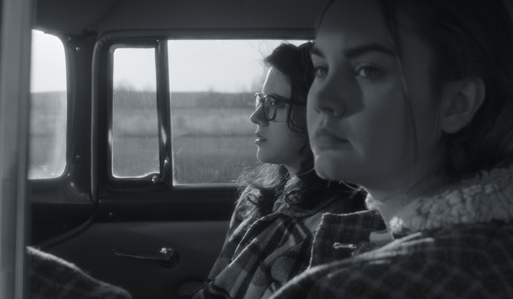 "Two teen girls (Kara Hayward, left, and Liana Liberato) begin an intimate relationship in 1960s Oklahoma, in ""To The Stars,"" by Martha Stephens, an official selection in the U.S. Dramatic Competition of the 2019 Sundance Film Festival. (Photo by Andrew Reed, courtesy Sundance Institute)"