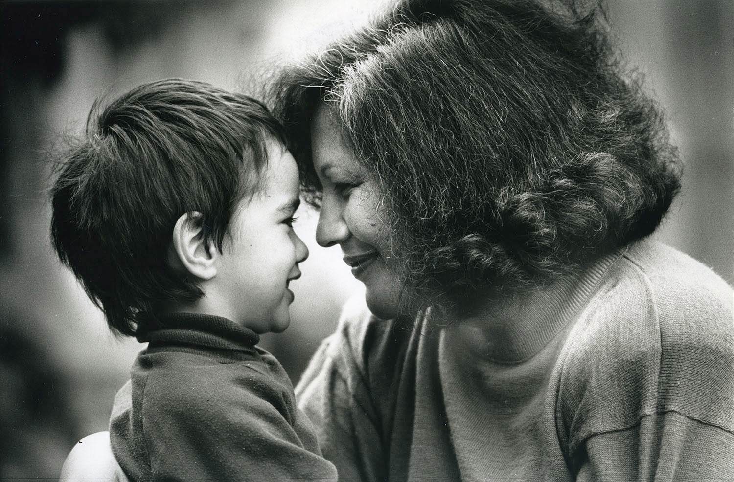 "Maori filmmaker Merata Mita, here shown with one of her children, is profiled in ""Merata: How Mum Decolonised The Screen, directed by her son, Heperi Mita. It is an official selection in the Documentary Premieres program of the 2019 Sundance Film Festival. (Photo courtesy New Zealand Herald/Sundance Institute)"