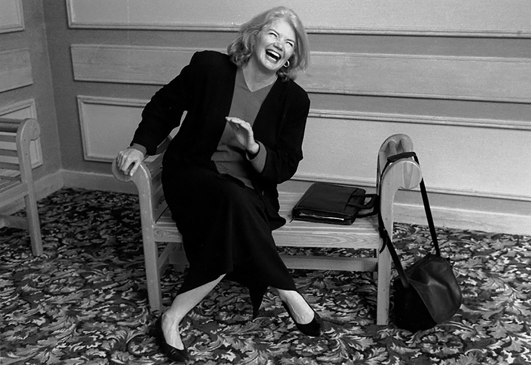"Texas journalist Molly Ivins is the focus of Janice Engel's ""Raise Hell: The Life & Times of Molly Ivins,"" an official selection in the Documentary Premieres Program of the 2019 Sundance Film Festival. (Photo by Robert Bedell, courtesy Sundance Institute)"
