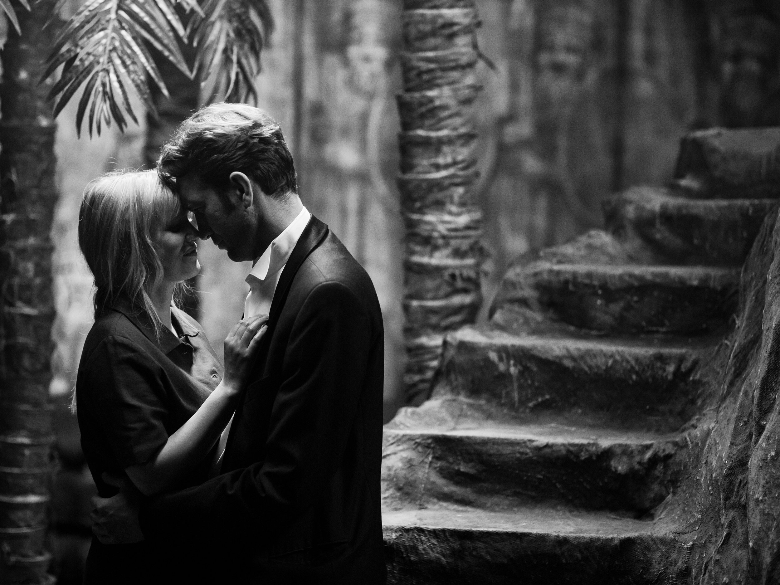 """Joanna Kulig, left, and Tomasz Kot play lovers caught up in politics and passion in post-WWII Poland, in director Pawel Pawlikowski's """"Cold War."""" (Photo by Lukasz Bak, courtesy Amazon Studios)"""