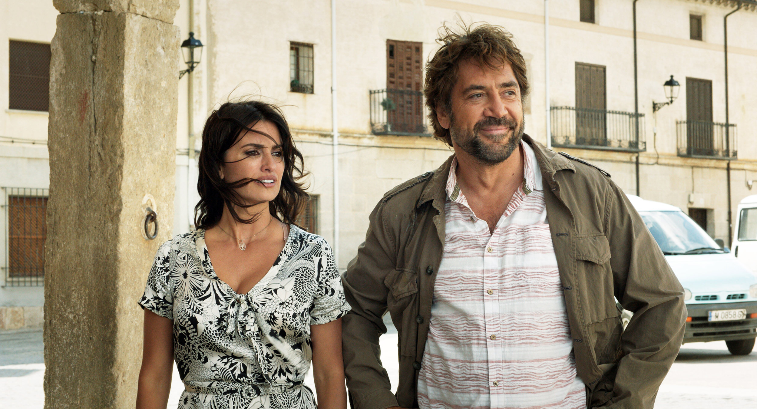"Former lovers Laura (Penélope Cruz, left) and Paco (Javier Bardem) are reunited for a family wedding in a Spanish village, in the drama ""Everybody Knows."" (Photo by Teresa Isasi, courtesy Focus Features)"