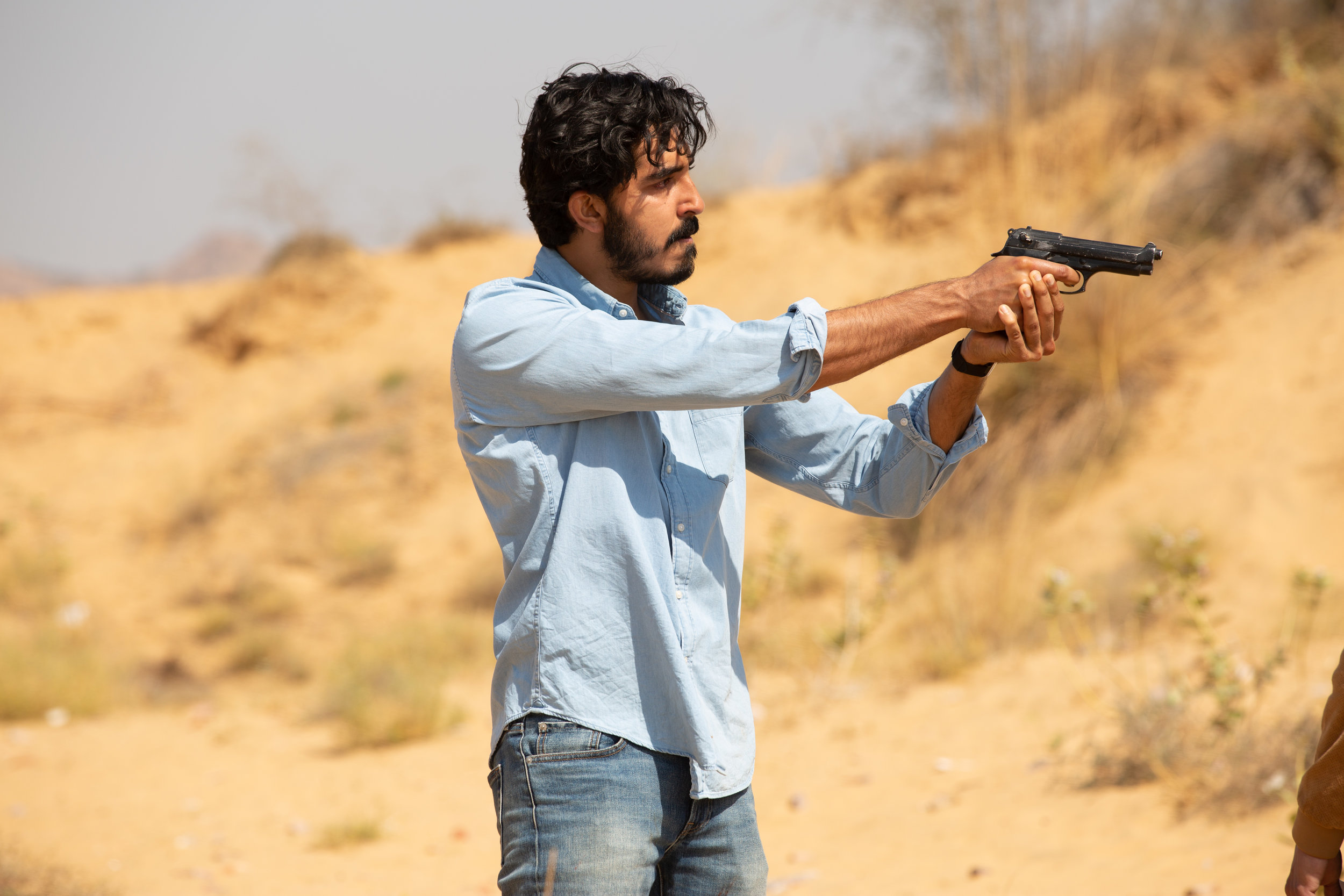 "Dev Patel plays a British Muslim who travels to Pakistan and India on a dangerous mission, in the thriller ""The Wedding Guest."" (Photo courtesy IFC Films)"