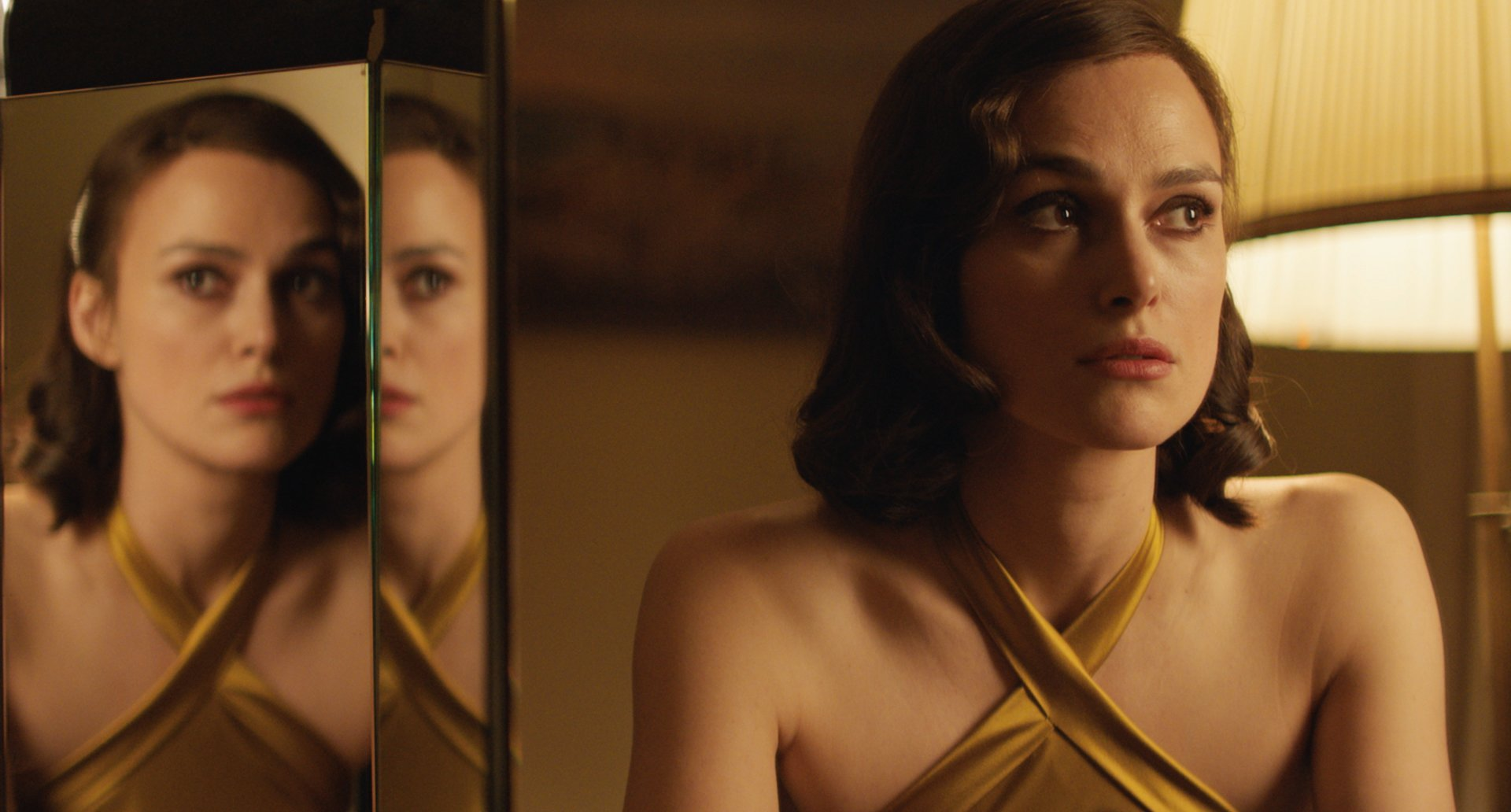 "Keira Knightley plays Rachael Morgan, a British Army officer's wife in post-war Hamburg, in the romantic drama ""The Aftermath."" (Photo courtesy Fox Searchlight Films)"