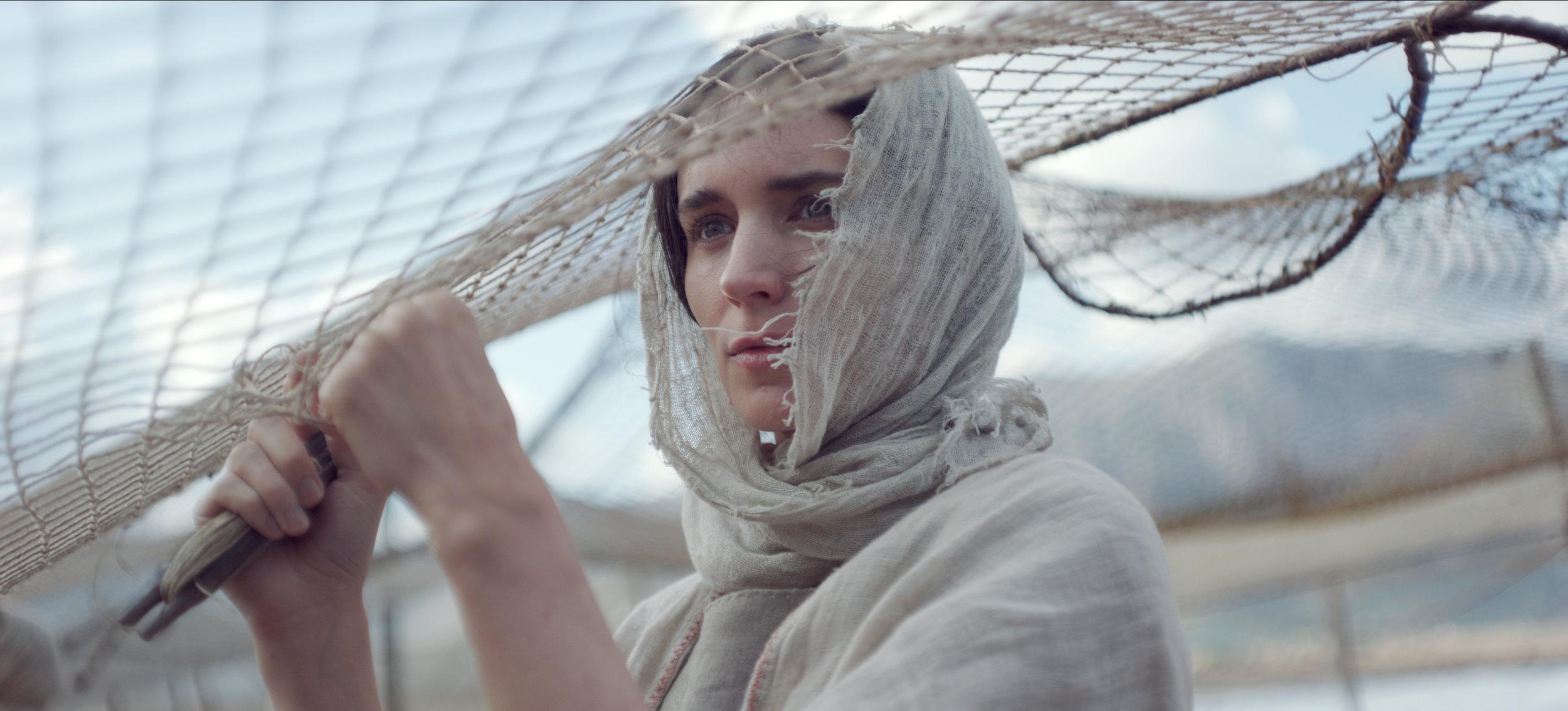 "Rooney Mara plays Mary of Magdala, who leaves her fishing village to follow Jesus (Joaquin Phoenix), in the biblical drama ""Mary Magdalene."" (Photo courtesy IFC Films.)"