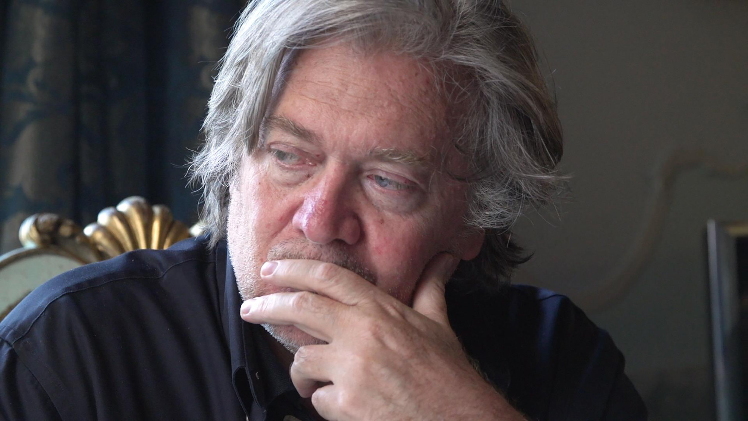 "Steve Bannon, far-right political operative, is profiled in Alison Klayman's documentary ""The Brink."" (Photo courtesy Magnolia Pictures.)"