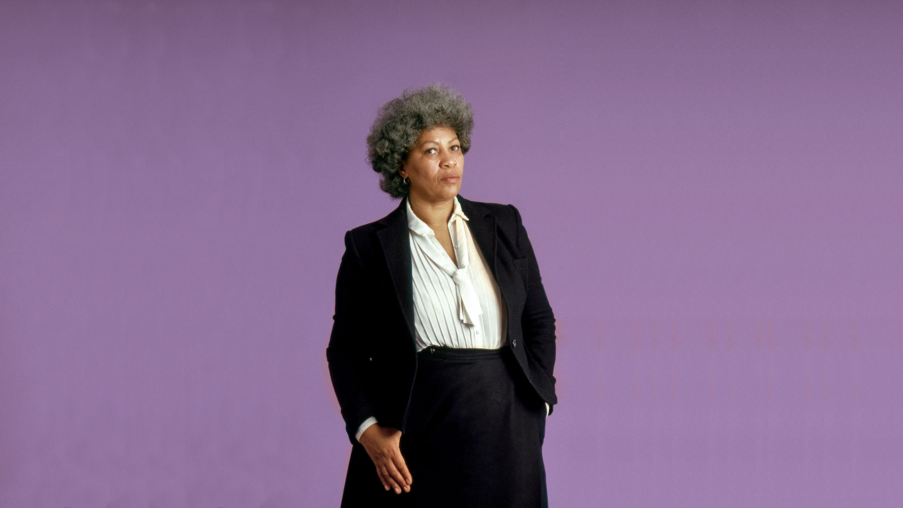 """Author and Nobel laureate Toni Morrison is profiled in the documentary """"Toni Morrison: The Pieces I Am."""" (Photo by Timothy Greenfield-Sanders, courtesy of Magnolia Pictures.)"""