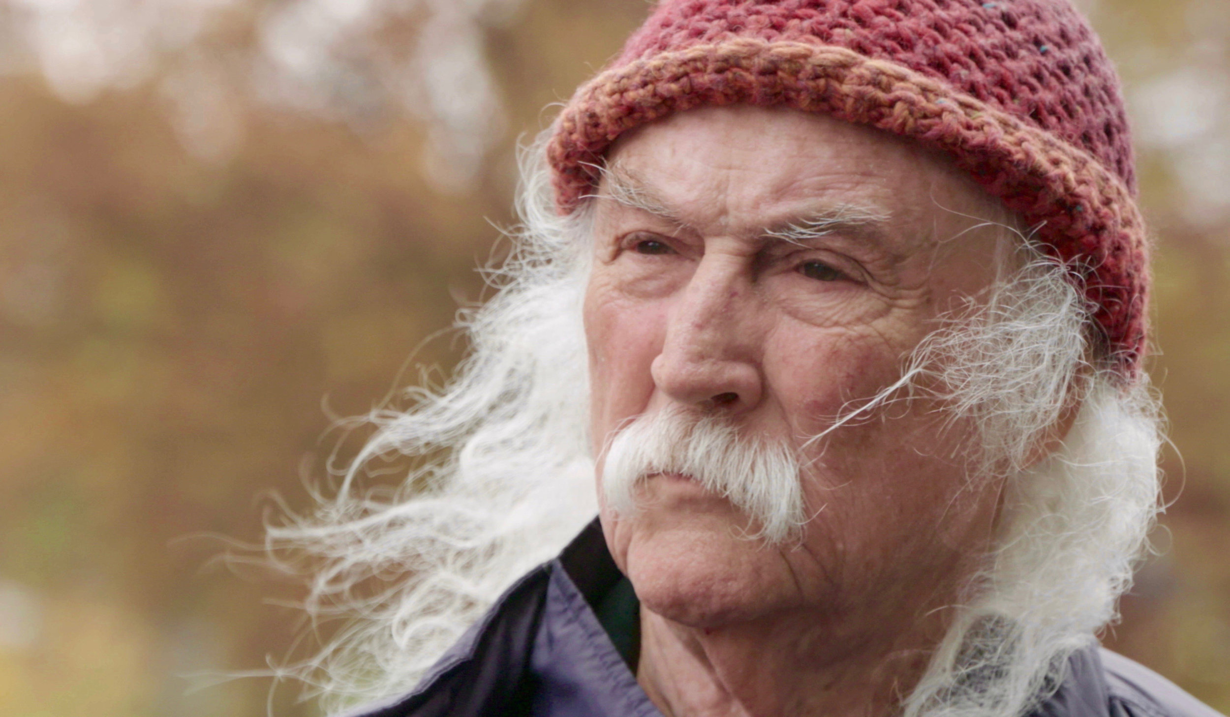 "Rocker David Crosby is profiled in AJ Eaton's ""David Crosby: Remember My Name."" (Photo by A.J. Eaton, courtesy of Sony Pictures Classics.)"