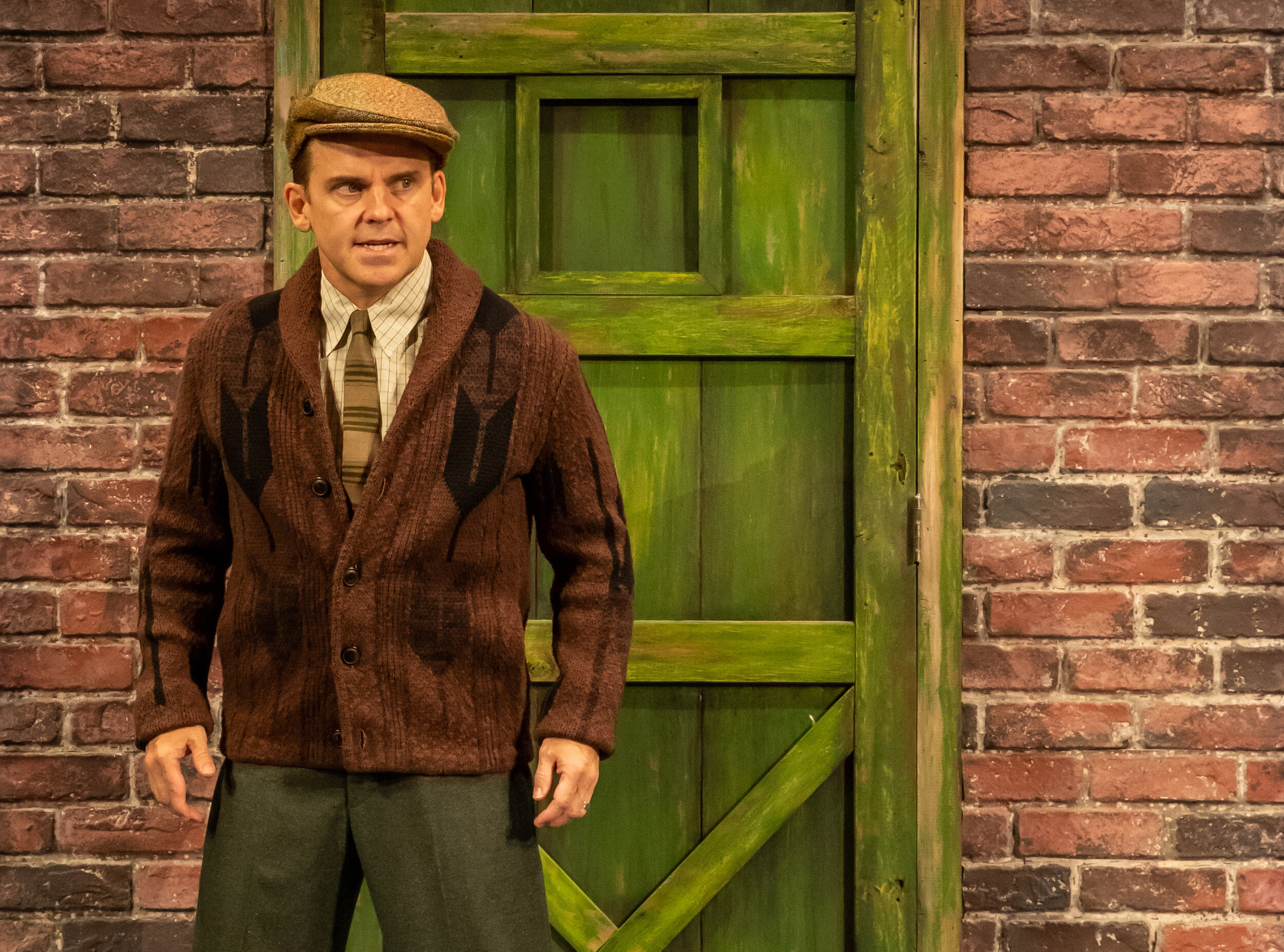 "Robert Creighton, a veteran Broadway actor, stars as movie icon James Cagney in ""Cagney,"" a musical being prepped for Broadway with a production at Pioneer Theatre Company in Salt Lake City, from Sept. 20 to Oct. 5. (Photo courtesy of Pioneer Theatre Company.)"