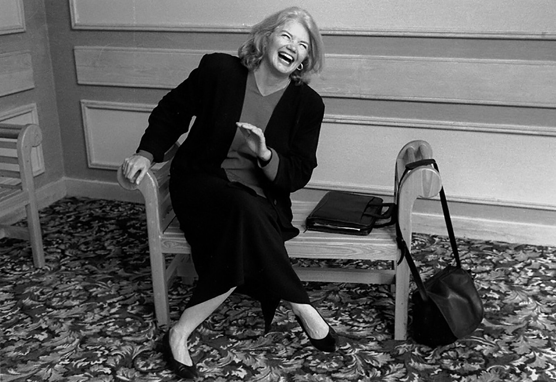 "Texas political journalist Molly Ivins is profiled in the documentary ""Raise Hell: The Life & Times of Molly Ivins."" (Photo courtesy of Magnolia Pictures.)"